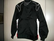 NEW ULTRASHIELD 2PC FIRE SUIT XXL 2XL IMCA SFI RACE RACING PROBAN FIRESUIT BLACK