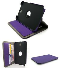 Purple Protective Stand Case Cover for Samsung GT-N5100 N5110 Galaxy Note 8.0