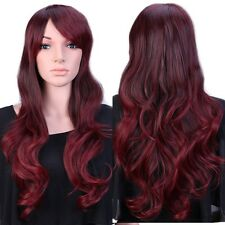 NEW Women Premium Hair Wig Natural Long Straight Wavy Cosplay Party Full Periwig