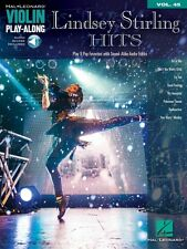 Lindsey Stirling Hits - Violin Play-Along - Book with Audio Online NEW 000123128