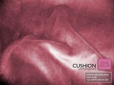 Dark Pink Cotton Velvet - By the Yard - Limited Quantity - Request Free Swatch