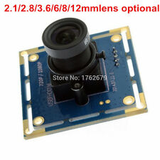 USB UVC Black White Monochrome Camera Module 1080P 2MP CCTV PCB Board 3.6mm Lens