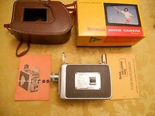 Kodak Brownie Movie Camera Model 2 f/1.9 Lens Telephoto Converter 24mm & case/bx