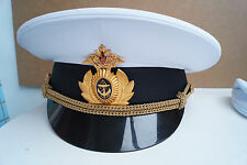 NEW Russian Army uniform parade peaked cap navy Officer size 62 BTK Group