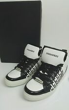 bnwb Dsquared2 studded high tops.sneakers.uk 7/40.white/black. £545