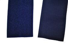 Gp 14,95 €/m Klettband blau 10 cm x 20 cm Klettverschluss Haken + Flauschband