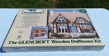 "GREENLEAF GLENCROFT 1983 COLLECTIBLE TUDOR DOLLHOUSE KIT 1"" SCALE #8001  NEW"