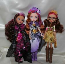 EVER AFTER, BRIAR LEGACY, ROSABELLA, HOLLY O HAIR UNSPRUNG, LOT OF 3 DOLLS