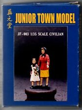 JUNIOR TOWN MODEL JF-003 - CIVILIAN - 1/35 RESIN KIT - NUOVO