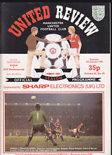 1984/85 MANCHESTER UNITED V BOURNEMOUTH 05-01-1985 FA Cup 3rd Round