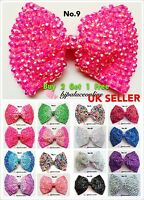 **NEW ARRIVAL**Brand New Large Crystal Diamante Bow Hair Clip