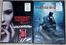 Horror DVD Lot - Fright Night 2 (New) Abraham Lincoln Vampire Hunter (New)