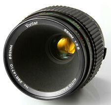 Vivitar 55mm f2.8 TRUE MACRO 1:1 Fixed/Prime For Canon Olympus Fujifilm Sony M43