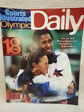 1996 Sports Illustrated Olympic Daily Program Day 18 USA Women Hoopsters 151136