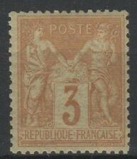 "FRANCE STAMP TIMBRE N° 86 "" SAGE 3c BISTRE - JAUNE "" NEUF x TB A VOIR  P243"