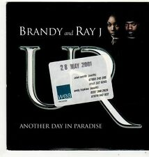 (FI967) Brandy And Ray J, Another Day In Paradise - 2001 DJ CD
