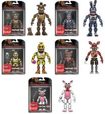 """FUNKO FIVE NIGHTS AT FREDDY'S SERIES 2 NIGHTMARIONNE 5"""" SET OF 5 ACTION FIGURE"""