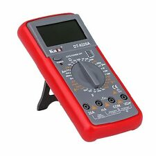 Professional Digital Multimeter DC AC Voltage Current Temperature Meter Tester