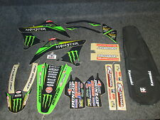 Kawasaki KXF450 2009-2011 N-STYLE Monster Energy graphics+ seat cover kit GR1040