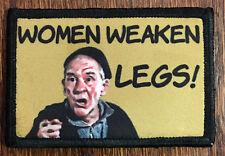 Women Weaken Legs Rocky Movie Morale Patch Milspec Tactical Army