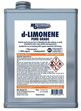 MG Chemicals 433-4L d-Limonene Cleaner Degreaser and 3-D Printing Chemical