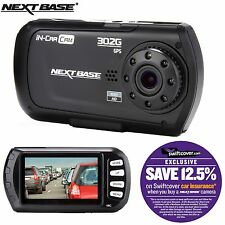 "Nextbase 302G Deluxe Car Dash Dashboard Video Camera 2.7"" 1080P HD DVR Cam"