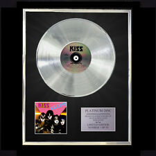 KISS KILLERS CD PLATINUM DISC FREE P+P!!