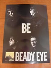 BEADY EYE - Be [OFFICIAL] POSTER *NEW* OASIS Liam Gallagher