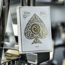 Bicycle White Artisan Deck Designed By Theory11 Playing Card New Sealed
