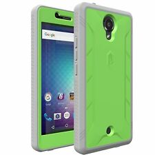 POETIC Revolution Series w/ Built-In Screen Protector Case for BLU R1 HD Green