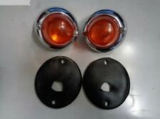 VW KARMANN GHIA, FRONT SIGNAL LIGHTS, COMPLETE KIT, COUPE/CONVERTIBLE, NEW PAIR!