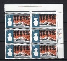 1/6 LANDSCAPES (NON-PHOSPHOR) U/M CYLINDER BLOCK WATERMARK INVERTED Cat £132+