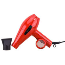 Elchim 2001 HP High Pressure Professional Salon Hair Dryer Red Made in Italy