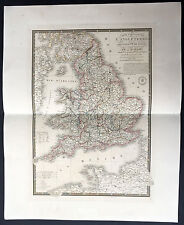 1840 Brue Very Large Antique Map of England & Wales