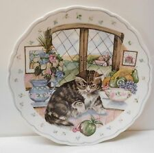 The Country Kitten Tabby Cat Curiosity 1988 Royal Albert Bone China England