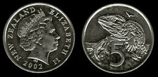 New Zealand 1 & 5 Cents 2 Uncirculated Coin Set
