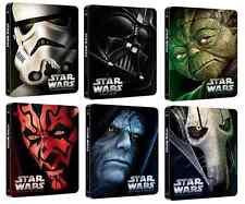 Star Wars: ALL I-VI Limited Steelbooks (Nordic)Blu Ray