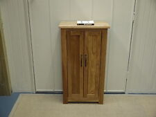 PEMBROKE CAMBRIDGE CD DVD BATHROOM CUPBOARD SMALL BOOKCASE 100% SOLID OAK