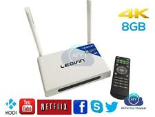 LEOVIN TV BOX KODI MBOX 4K M12 QUADCORE ANDROID TV BOX