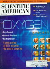 1999 Scientific American Magazine: The Oxygen Project/Malaysia's Mystery Virus