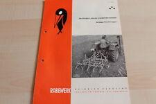 144448) Rabewerk Dreipunkt Vibrationseggen Prospekt 04/1963