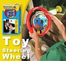 Childrens Electronic Backseat Driver Car Seat Steering Wheel Toy Game Hot
