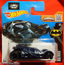 Batmobil - Batman: The Dark Knight Batmobile - blue-grey variant - Hot Wheels