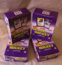 4 Boxes  Score Hockey CARDS 1991-92 Old Unopened LOT Hasek Rookie ? Gretzky ? +?