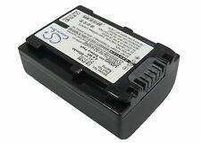 Li-ion Battery for Sony HDR-CX550V HDR-CX350 HDR-TG5/E DCR-SX63E/S HDR-CX110E