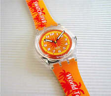 SEA SUN AND BEACH! FIVB World Tour ACCESS Swatch with Glow Dial Hands-NIB!