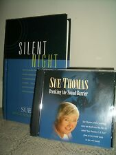 SALE!!! THOMAS, SUE: signed book/CD Gift Set ~ SILENT NIGHT/ inspirational CD