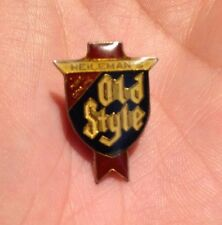 RARE! VTG HEILEMANS OLD STYLE Beer Brew 1980s Advertising Lapel Hat Tie Pin