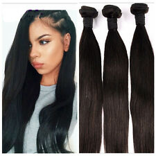 4Bundles Unprocessed Virgin 8A Peruvian Straight Hair Extension Human Weave Weft