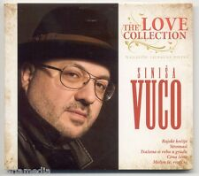 SINISA VUCO CD The Love Collection Split Crna Zeno Bozic Hrvatska Ljubavne Best